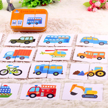 Kid's Cartoon Style Educational Montessori Cards