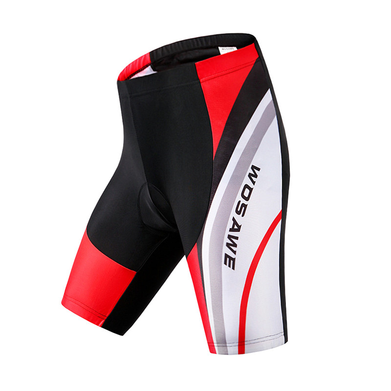WOSAWE Men 3D Gel Padded Cycling Shorts Shockproof MTB Bicycle Mountain Bike Clothing Outdoor Sports Cycle Wear Downhill Short in Cycling Shorts from Sports Entertainment