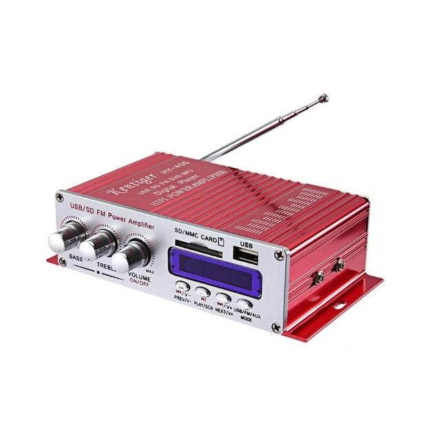 Best Offers Stereo Hi-Fi Multi-Function Smart Power Amplifier Car Amplifier Audio Amplifier Motorcycle SD Player
