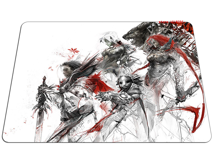 guild wars 2 mouse pad heros gaming mousepad computer gamer mouse mat pad game desk padmouse keyboard large play mats