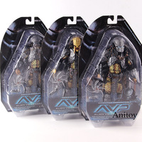 NECA AVP Alien vs Predator Toys Celtic Scar Chopper Predator Figure Action PVC Collectible Model Toy
