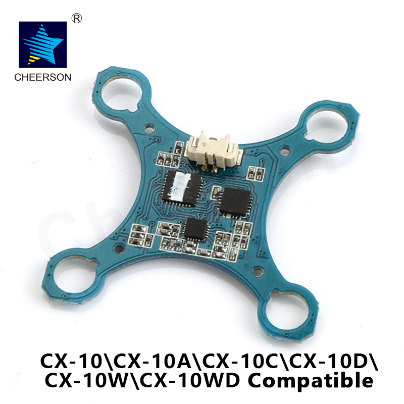 Cheerson CX-10 Heli parts receiver PCB circuit board Cheerson cx-10 RC Quadcopter Spare Parts free shipping cx 20 rc drone helicopter quadcopter parts flight control circuit board pcb for cheerson auto pathfinder