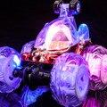 Бесплатная Доставка Дистанционного управления АВТОМОБИЛЕМ полубочка RC детские toys подарок 360 вращение + Музыка + аккумуляторная + Flash + автоматическая презентация