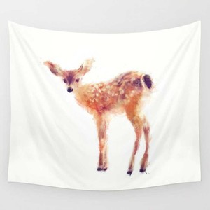 Image 2 - CAMMITEVER Feder Indischen Wand Eule Deer Decor Strand Handtuch Wandteppich Hängen Wald Hause Yoga Matte Farbe Bettdecke