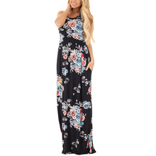 New 2017 Runway Womens Fashion Robe Sexy Maxi Dress Party Vestido De Festa Imported Clothing Long Beach Dress Large Size Tunics