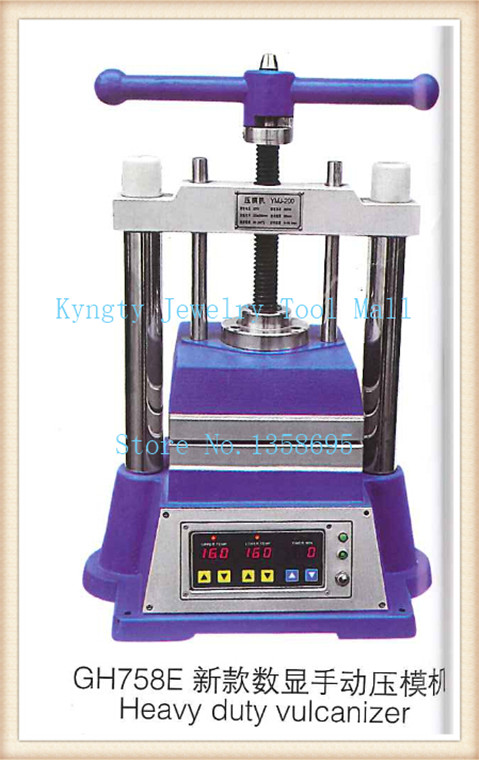 Heavy duty vulcanizer Rubber Wax Mold Vulcanizer Jewelry Casting machine