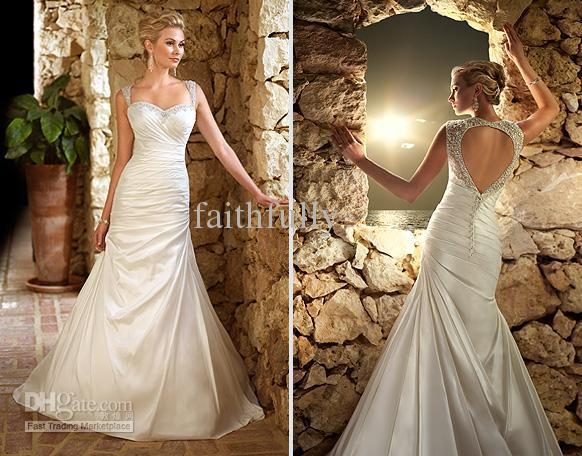 Ella Bridals 5695 taffeta Wedding dress A line Sweetheart Neckline ...
