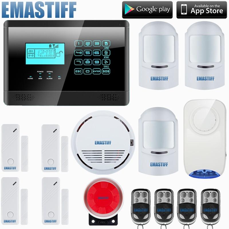 2019 Neuer Stil Ios/android App 850/900/1800/1900 Mhz Drahtlose Gsm Hause Pir Alarm Secure System Mit Eingebaute Lautsprecher Batterie F Intercom Sicherheit üBerlegene (In) QualitäT