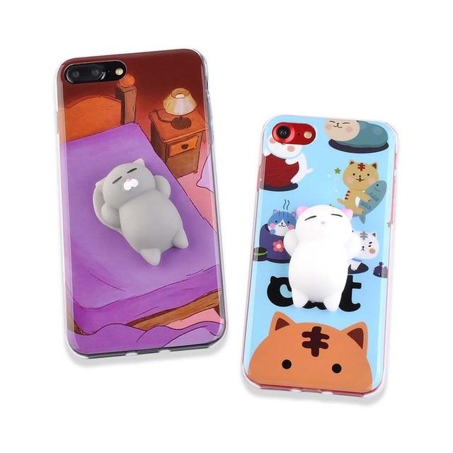 coque iphone 6 3d silicone squishi