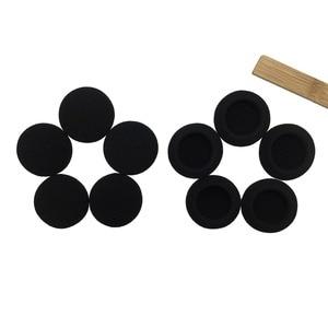Image 2 - IMTTSTR 6 Pairs of Soft Foam Sponge Ear Tip Cover Replacement Earbud Covers for 35 40 45 50 55 60 65 70 80 mm Earphones Sleeve