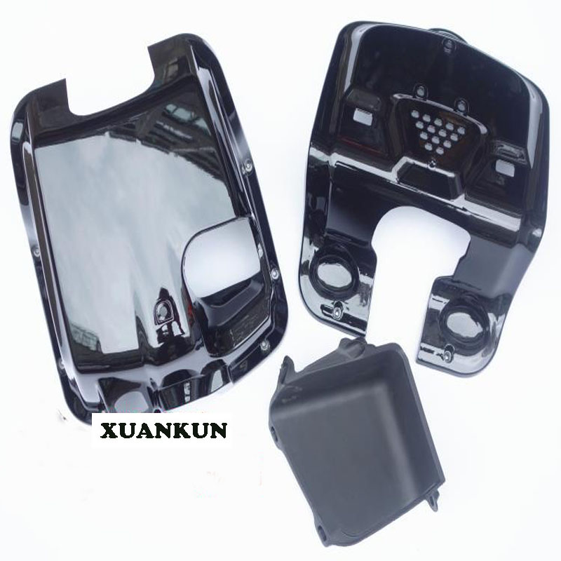XUANKUN  zoomer Motorcycle Electric Car Accessories Before The AB Plastic Shell With A Storage Box xuankun zoomer motorcycle electric car accessories modified foot pedal plastic case shell