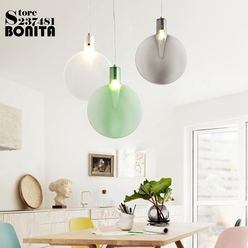 Excellent Us 68 38 42 Off Aliexpress Com Buy Pendant Lighting Glass Lampshades Table Tennis Racket Hanging Lamp Round Colorful Led Droplight Loft From Home Interior And Landscaping Dextoversignezvosmurscom