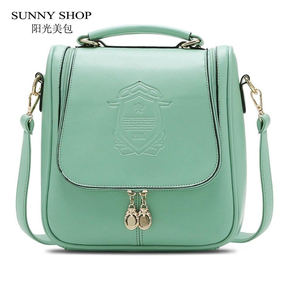SUNNY SHOP Summer Lady Pretty Korean Vintage Women Shoulder Bag Fresh Students S