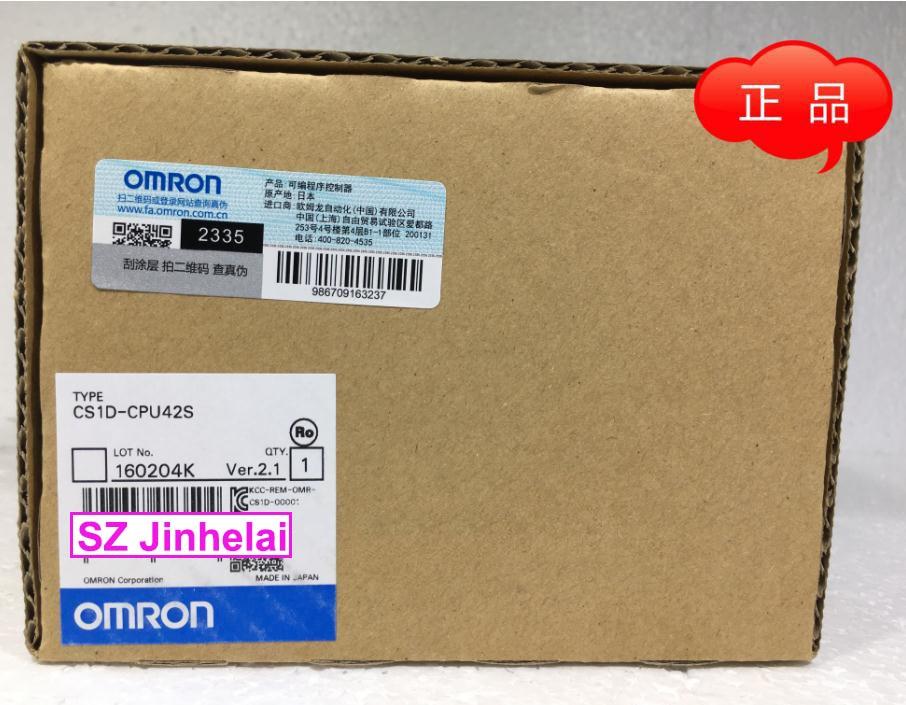 New and original  CS1D-CPU42S  OMRON  CPU UNIT c200h cpu03 cpu unit cpu module