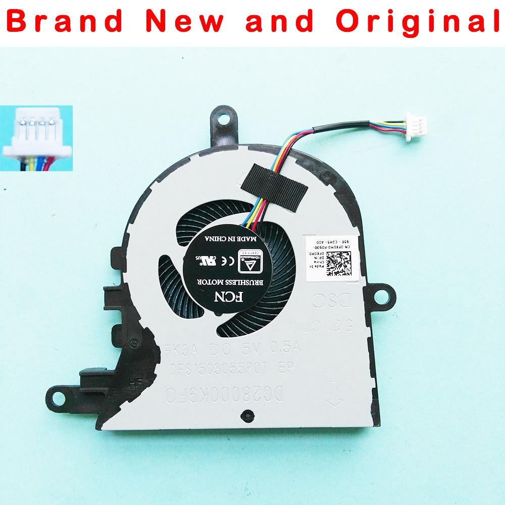 Новый оригинальный вентилятор охлаждения ЦП для Dell Latitude 3590 L3590 E3590 для inspiron 15 5570 5575, вентилятор охлаждения FX0M0 0FX0M0