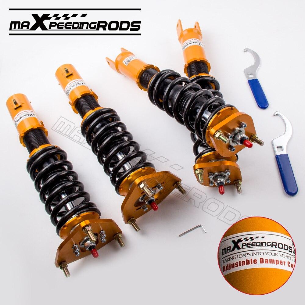 Новый Регулируемая coilover комплект для Mitsubishi Lancer Evolution EVO 7 8 9 CT9A амортизатор стойки пружины стойки