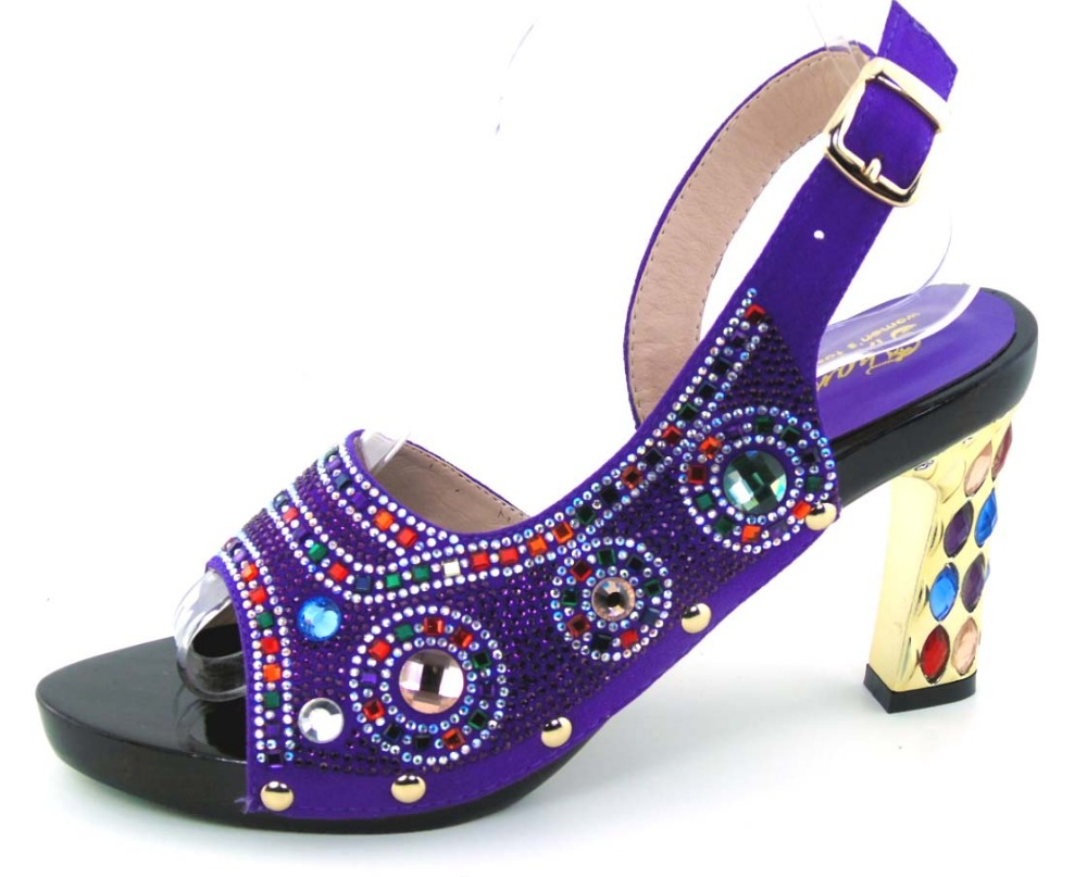 ФОТО Luxury African Sandals Lady Shoes,New design Italy PU Leather High Heels Shoes For Party In Stock!   MOH1-47