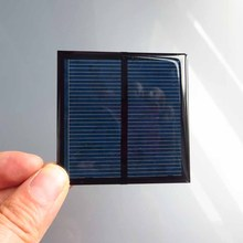 5PCS X 1V 500mA Mini monocrystalline polycrystalline solar Panel small solar cell