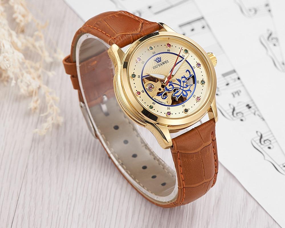 brown watch women 2