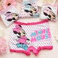 Roupas Infantis Menina 2 pçs/lote as crianças calças roupa íntima para meninas Roupas de bebê Menina do pugilista da Menina de Material de Modal 2072