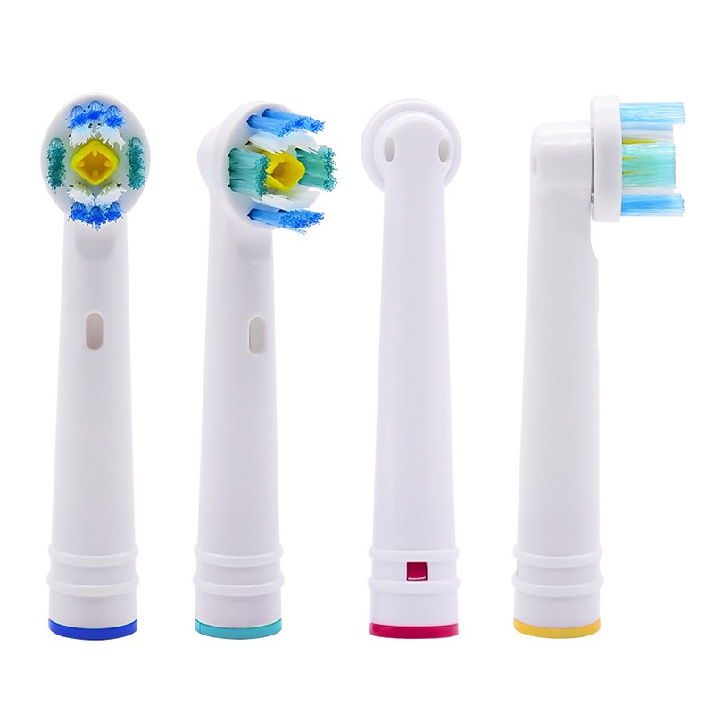 Oral B Replacement Brush Head Electric Toothbrush EB18A/EB-18A Universal DuPont Brushing Cross Action Toothbrush Teeth Cleanin image