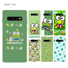 Uyellow Cute keroppis Silicone Case For Samsung S6 S7 S8 S9 S10 S10E Plus J4 J6 J8 A6 A7 A8 A9 2018 Note 8 9 Cover Coque