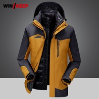 Winter Mens Travel Camping White Duck Down Jacket Waterproof Outdoor Hunting Hiking Coat Sportswear Windbreaker Skiing Jackets