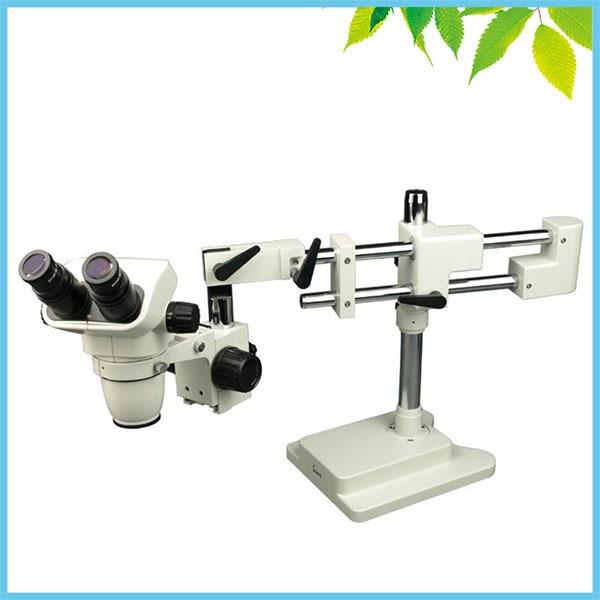 6.7X-45X Stereo Zoom Microscope Binocular Stereo Microscope TXB3-D10 Double Boom Stand Zoom Binocular Microscope