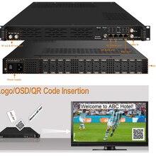 Высокая интеграция 1080P 24 способ HDMI к DVB-C/DVB-T кодировщик модулятор цифровой ТВ головной QAM RF модулятор