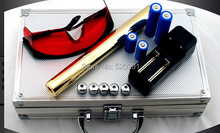 Promo offer High Power Blue Laser Pointer 500000mw 500Watt 450nm Flashlight Burning Match/Paper/Dry Wood/Candle/black/Cigarettes+Glasses