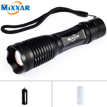 EZK20 Portable CREE XM-L2/T6 9000/9500LM LED Flashlight LED Zoomable LED Torch Light Lantern for Walking