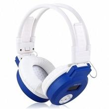 HI-FI Headphone LCD Foldable Wireless Headphone Headset + Fm Radio Tf Card + Mp3 Player - Gold