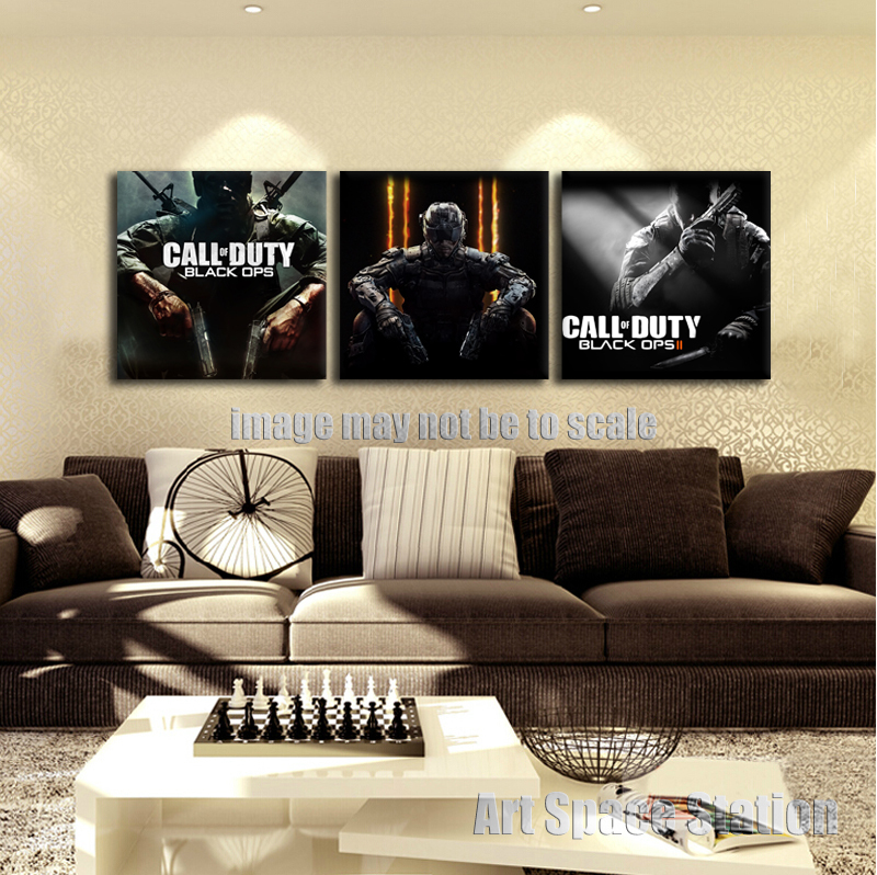 Online Buy Wholesale call of duty wall art from China call