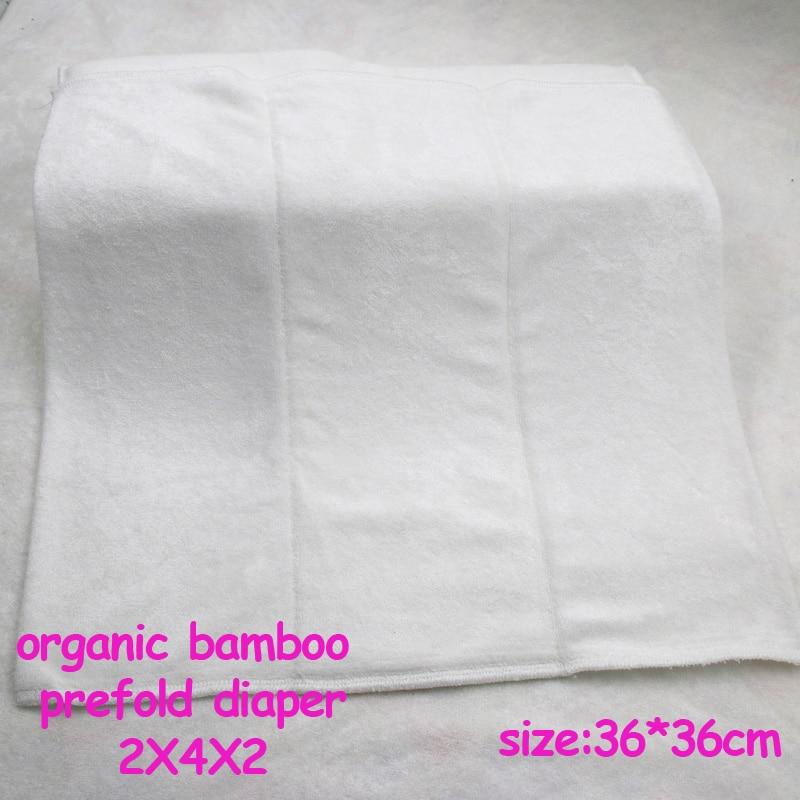 Oeko Certificated 2x4x2 Layer Super Absorbent Reusable Organic