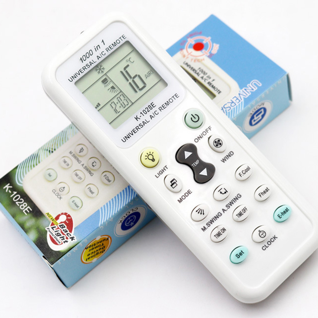 Universal K-1028E Low Power Consumption K-1028E Air Condition Remote LCD A/C Remote Control Controller