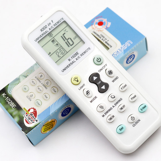 Universal K 1028E Low Power Consumption K 1028E Air Condition Remote LCD A/C Remote Control Controller