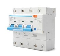 CHINT 3P 100A high power 50HZ/60HZ Residual current Circuit breaker with over current protection RCBO