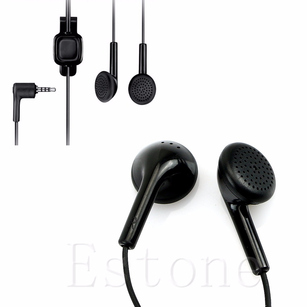 OOTDTY In-Ear Earphone 3.5mm Headset For Nokia WH-101 HS-105 2680 6500 E71 E66 Nova 6220 5000 7210 image