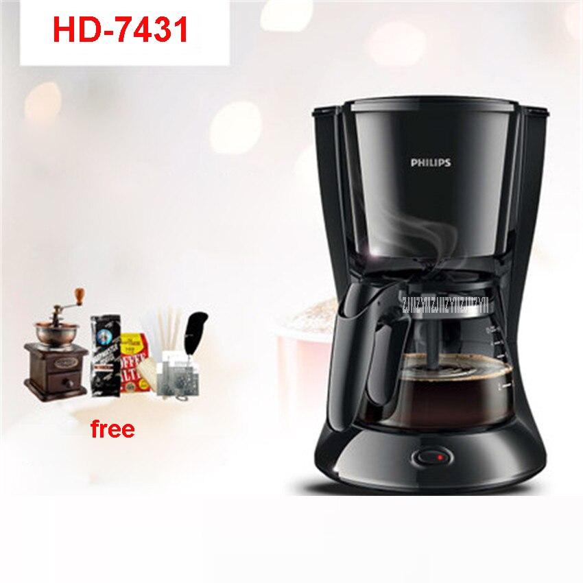 HD7431 220V/50Hz Fully Automatic Coffee Machine 700W Coffee Machine for American Coffee Machines food grade ABS material 0.6L 1kg food grade l alanine 99% l alanine