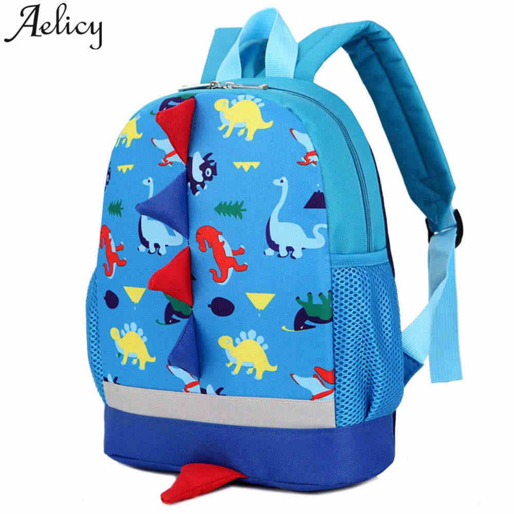 39e725d4c416 Aelicy Детские рюкзаки для школы динозавр узор детский сад нейлон детские  школьные сумки с принтом для