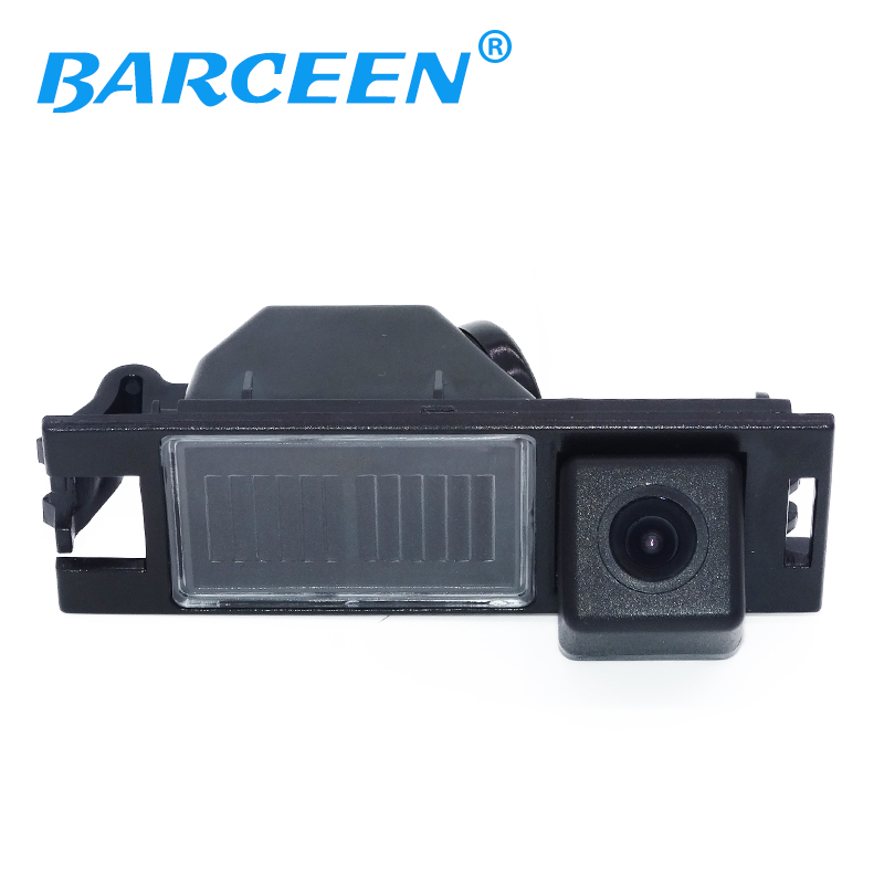 Wired Car reverse Camera   Night vision CCD backup rear view car parking system for Hyundai IX35 2010-12 For Hyundai Tucson