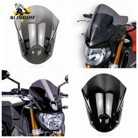 ABS Motorcycle Windshield Windscreen with Mounting Bracket Screws for Yamaha MT 09 FZ 09 FZ MT 09 2013 2014 2015 2016 MT09 FZ09