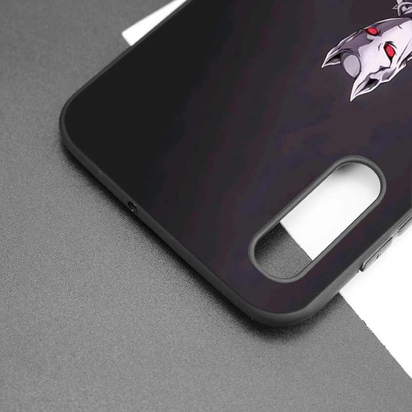 Noir coque en silicone Housse pour Samsung Galaxy M10 M20 M30 S8 S9 S10 S10e 5G J3 J4 J5 J8 Plus 2018 S7 Bord Killer Queen Anime
