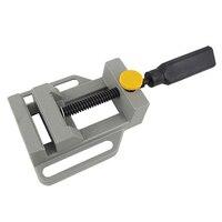 Neue Aluminium Mini Flache Clamp für Bohrer Ständer Griff Gravur Werkbank DIY Werkzeug Fräsen Maschine Manuelle Schellen Holz Bank-in Elektrowerkzeuge Zubehör aus Werkzeug bei
