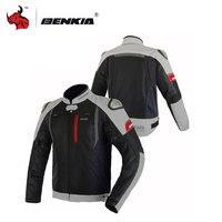 BENKIA мотоциклетная мужская куртка Moto куртка для мужчин мотоцикл Мотокросс одежда защиты гвардии Черный