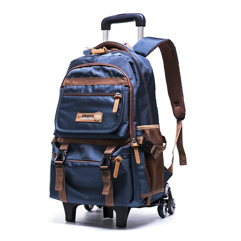 SIXRAYS Men s Travel Bag Man Backpack Polyester Bags Waterproof Computer Packsack Brand Design Backpacks Trolley