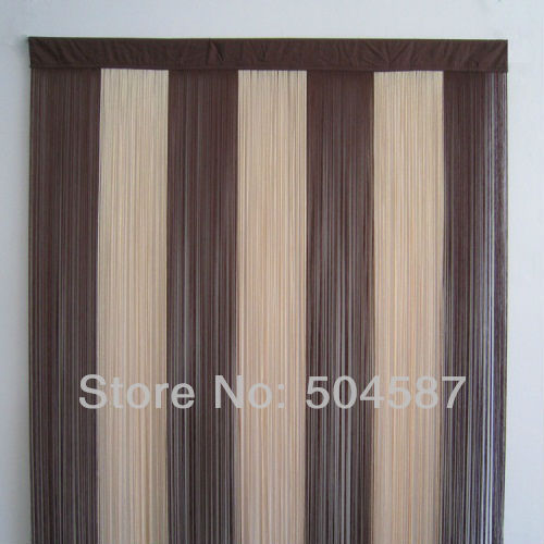 Curtains Ideas beige and brown curtains : Aliexpress.com : Buy Beige & Brown Multicolor String Curtains for ...