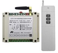 AC 220 V 240 V 250V 380V 2 CH RF Wireless Remote Control High quality can support tubular motor forward and inversion 300m