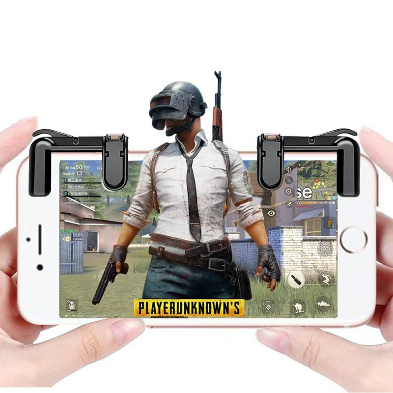 Gaming Trigger Fire Button Smart phone Mobile Joysticks Games L1R1 Shooter Controller For PUBG/Rules of Survival/Knives Out