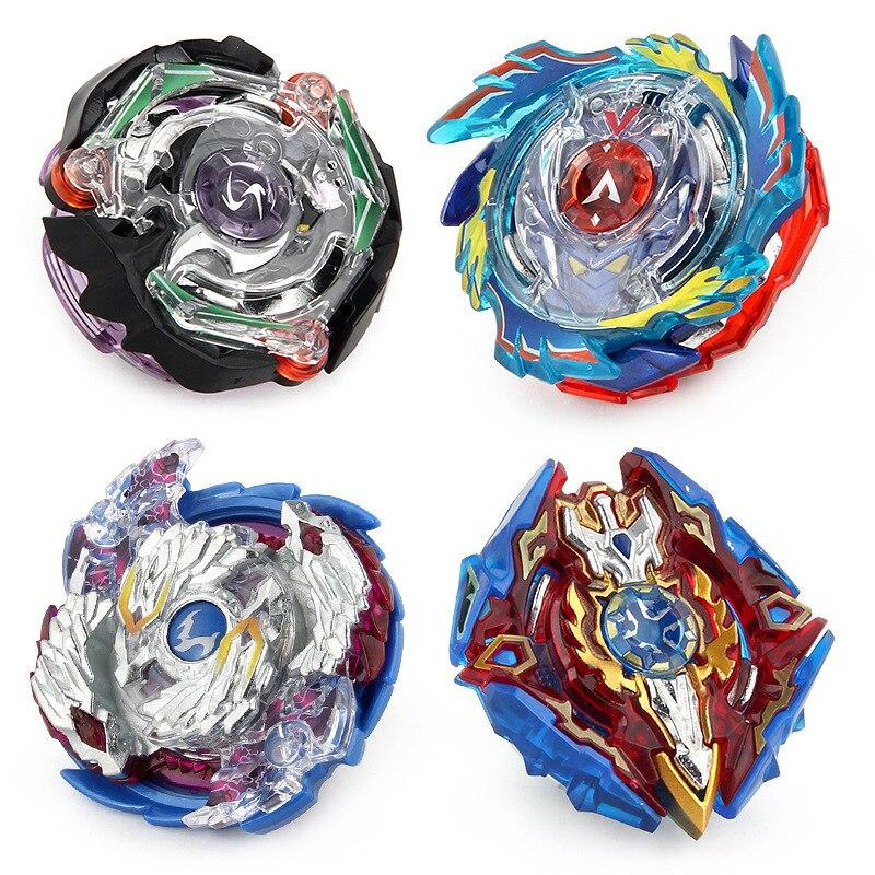 Gyro bataille métal Fusion toupie jouets B97 B74 B92 B73 4 pièces/ensemble avec lanceur Bey lames lame jouet Bayblade